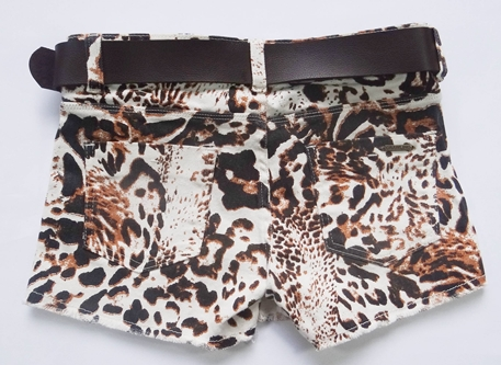 SHORT SAIA ANIMAL PRINT REF. 3658