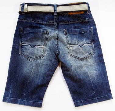 Bermuda Jeans Infantil + Cinto - Ref. 3761