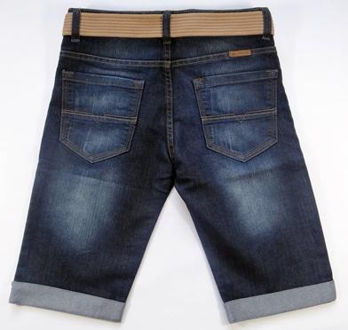 Bermuda Jeans Infantil com Cinto Ref. 3791