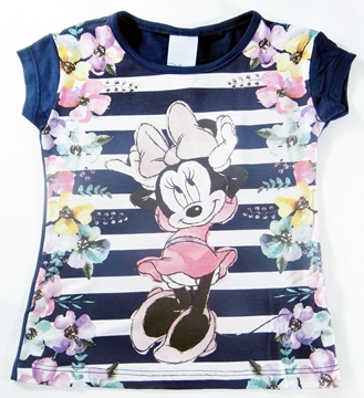 Blusa Listrada Minnie Mouse - Ref. D30096
