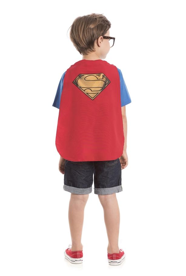 CAMISETA INFANTIL MENINO - SUPER MAN REF.S4023