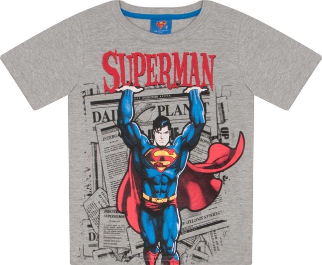 CAMISETA SUPERMAN MESCLA STONE REF.S4028
