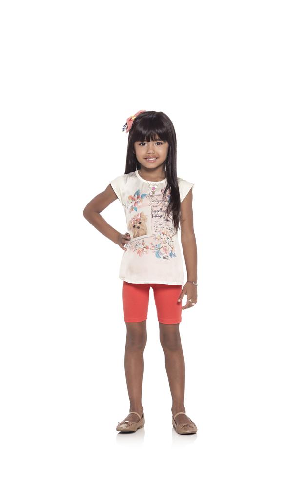 Blusa Infantil Feminina Cute - Ref. 32316