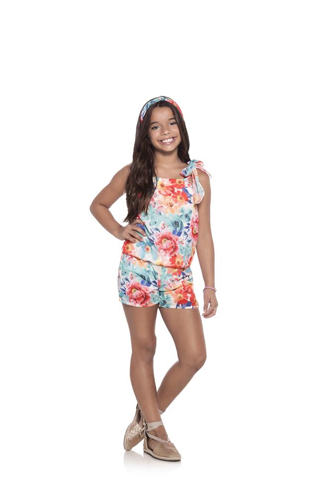 MACAQUINHO INFANTIL FLORIDO REF. 32344