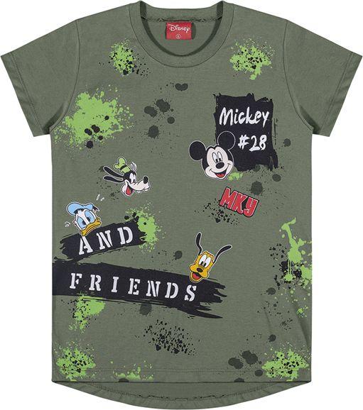 Camiseta camuflada infantil Mickey Mouse REF. 85040