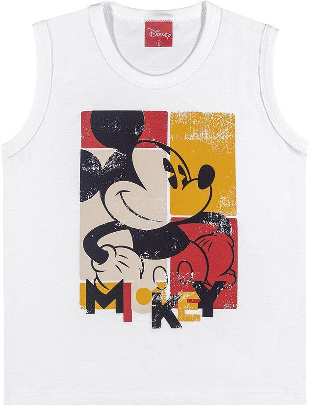 Camiseta infantil regata Mickey Mouse ref. 85042