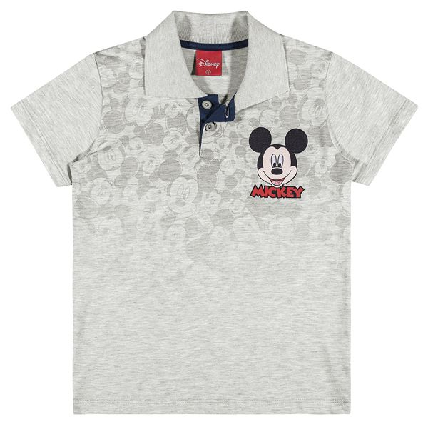 Camiseta polo masculina infantil do Mickey Mouse - REF.85000