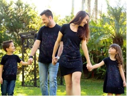 Vestido Feminino Adulto - Coleção Familia REF. 26014