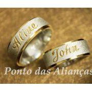 Alianças Compromisso - Noivado  -  3028