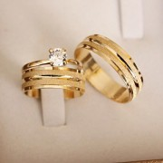 Alianças de Ouro Casamento ou Noivado - 3195