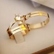 Alianças de Ouro Casamento ou Noivado - 3198