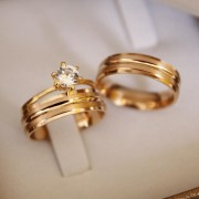 Alianças de Ouro Casamento ou Noivado - 3200