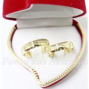 Alianças de Ouro Casamento ou Noivado - 535