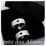 Alianças de Prata Compromisso - 3045