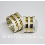 Alianças de Prata Compromisso - 3060