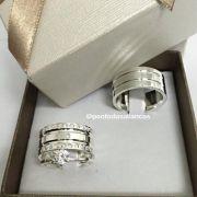 Alianças de Prata  Compromisso - 3150