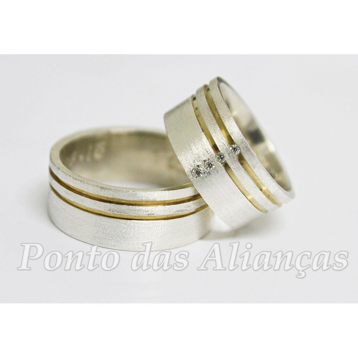 Alianças Compromisso - Noivado  -  3029