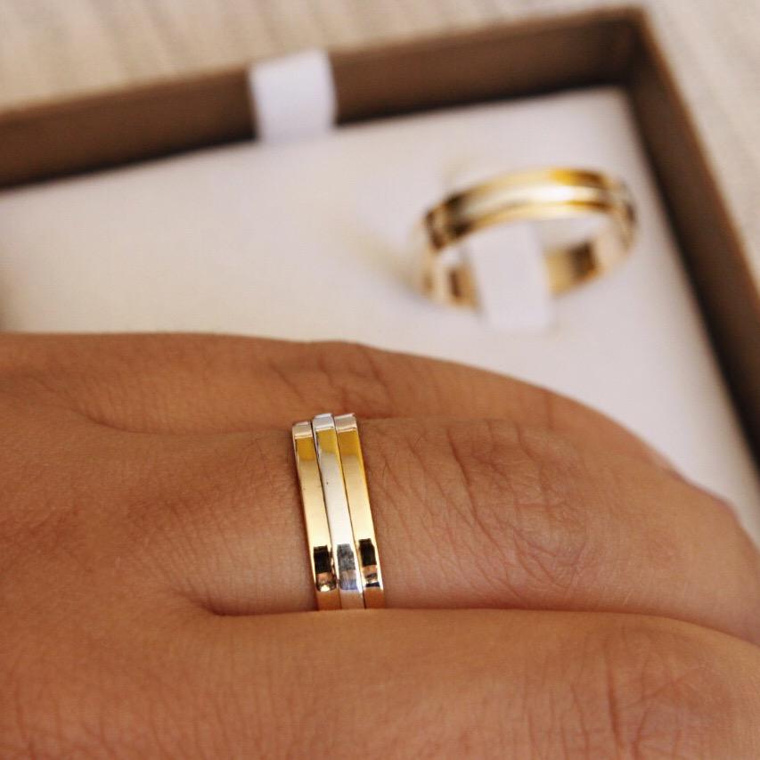 Alianças de Casamento - NOIVADO 3209