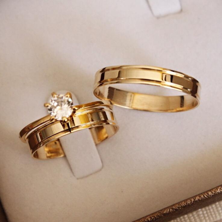 Alianças de Casamento - NOIVADO 3210
