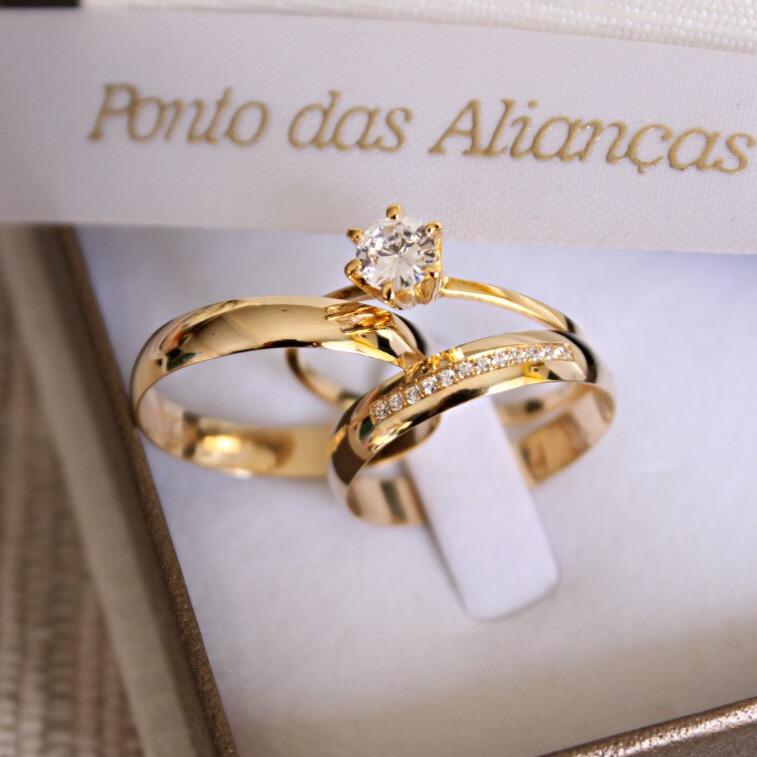 Alianças de Casamento - NOIVADO 3218