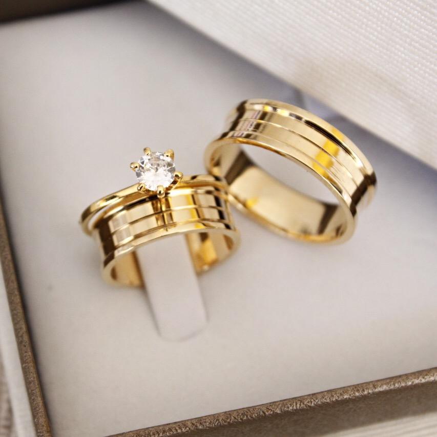 Alianças de Casamento - NOIVADO 3219
