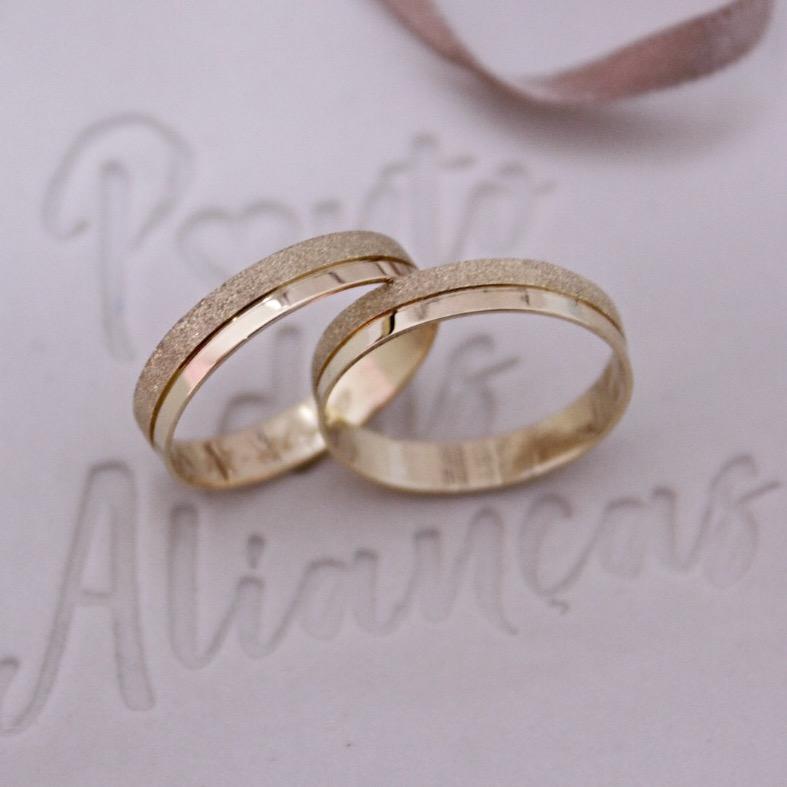 Alianças de Casamento - NOIVADO 3220