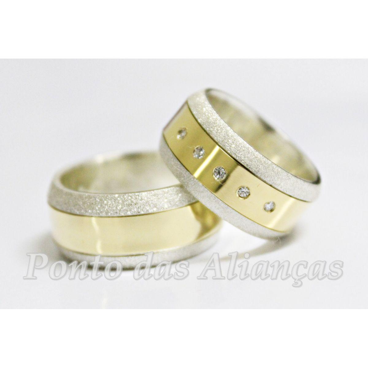 Alianças de Casamento ou Noivado - 3017