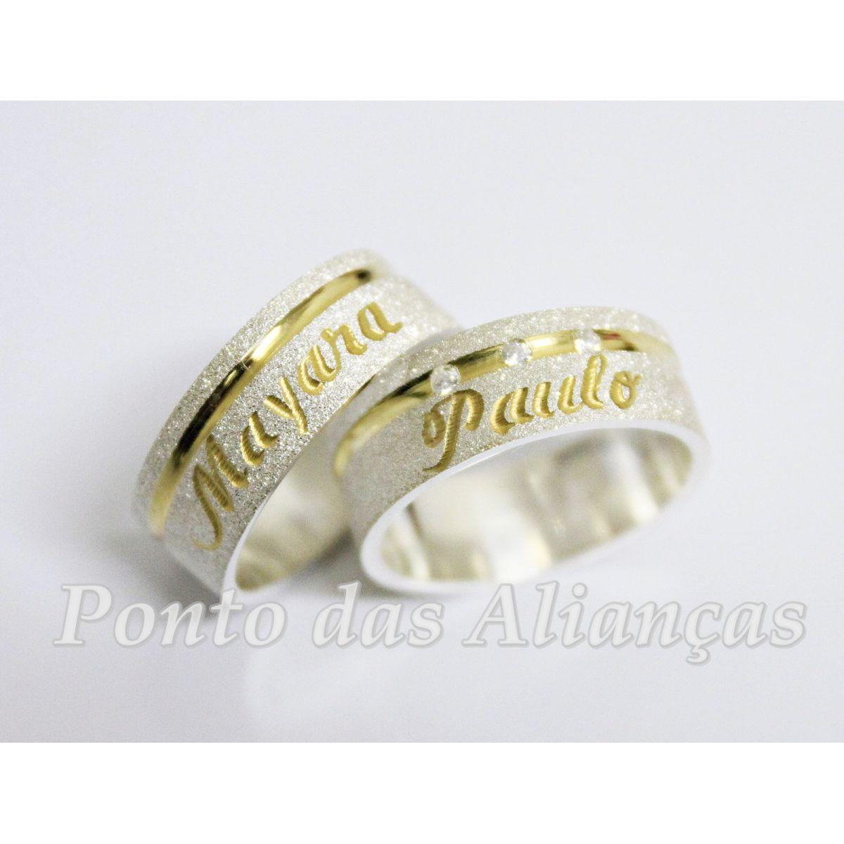 Alianças de Casamento ou Noivado - 3018