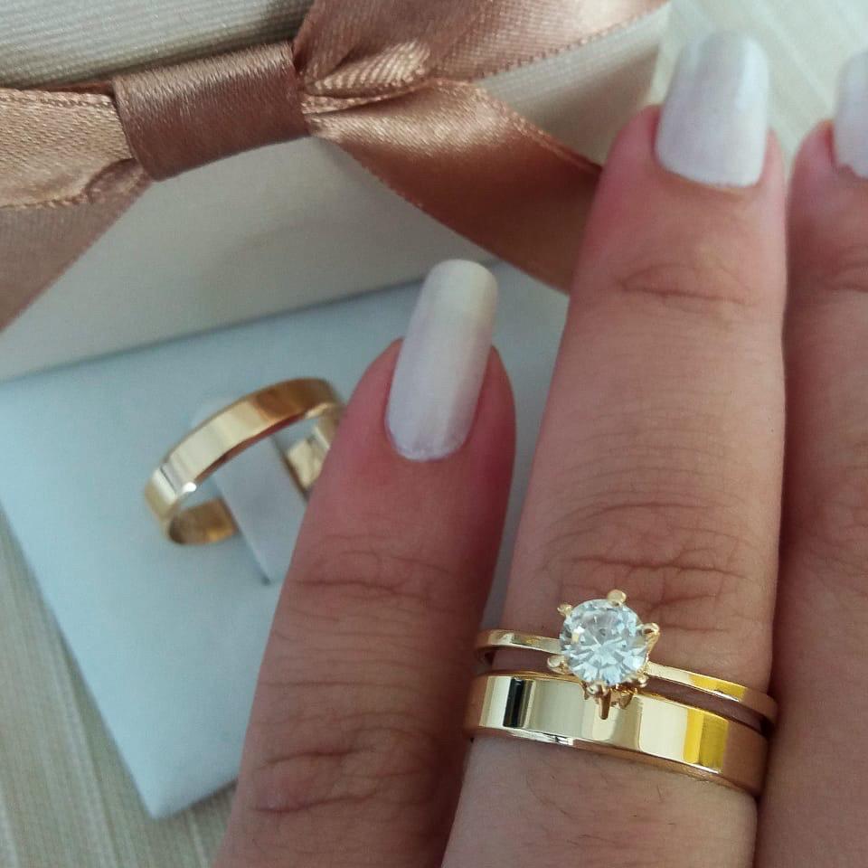 Alianças de Casamento ou Noivado - 3119