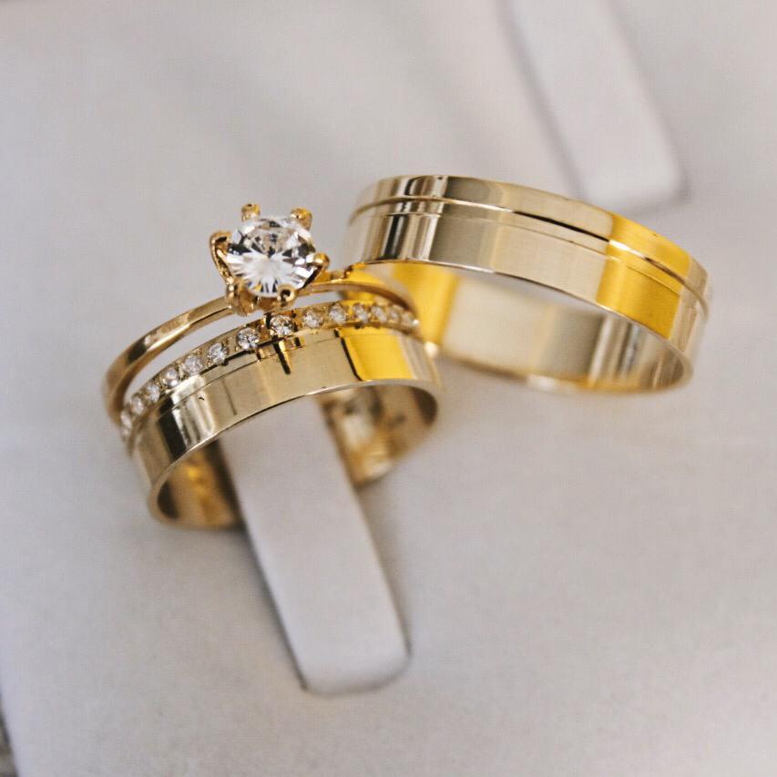 Alianças de Casamento ou Noivado - 3161