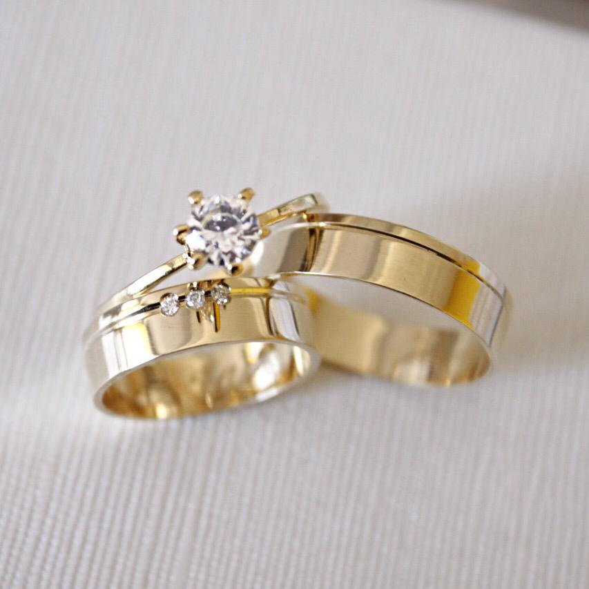 Alianças de Casamento ou Noivado - 3170