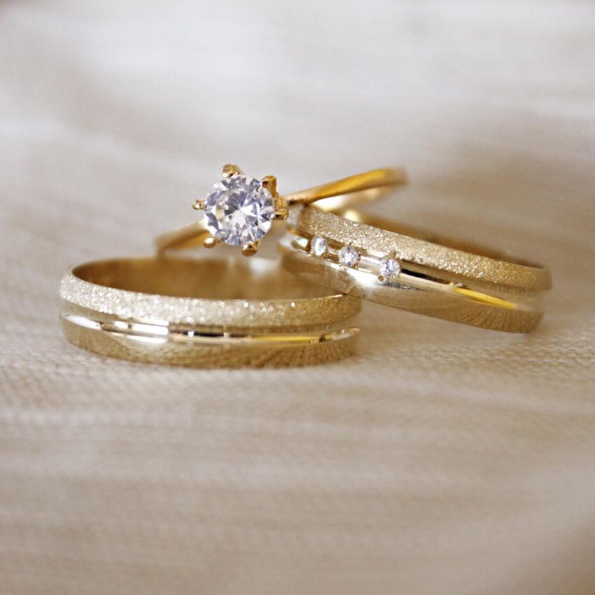 Alianças de Casamento ou Noivado - 3174