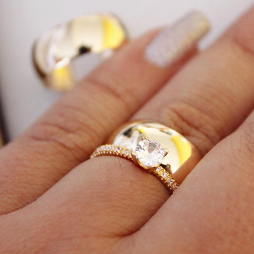 Alianças de Casamento ou Noivado - 3184