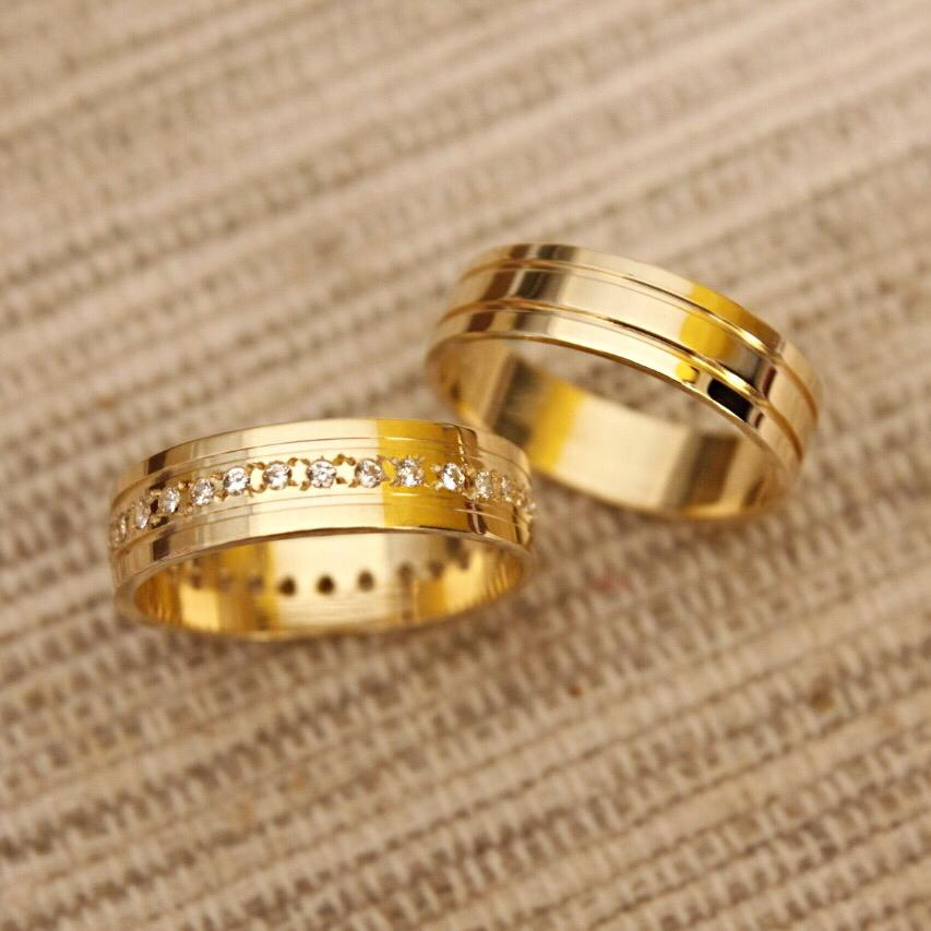 Alianças de Casamento ou Noivado - 3203