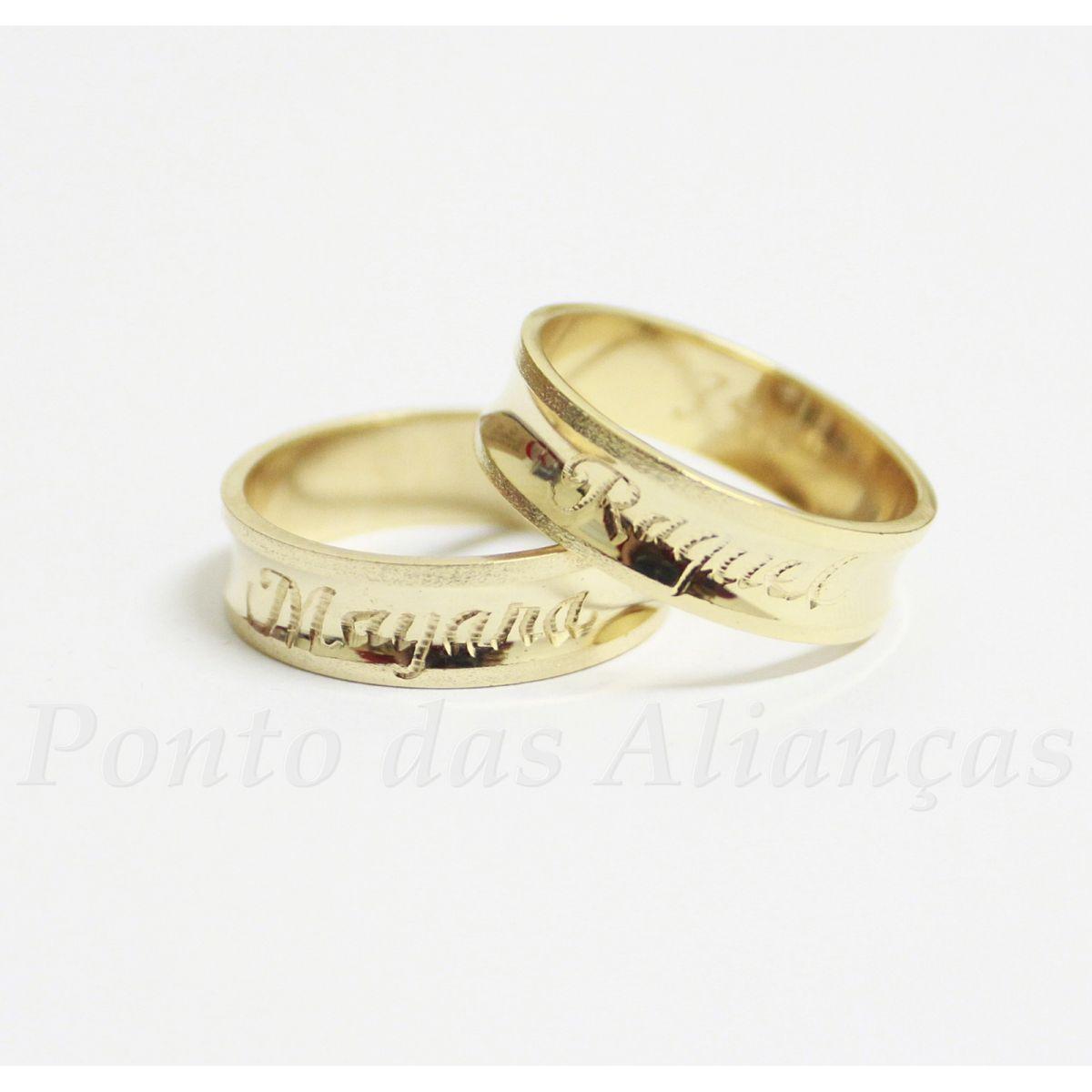 Alianças de Casamento ou Noivado - 398