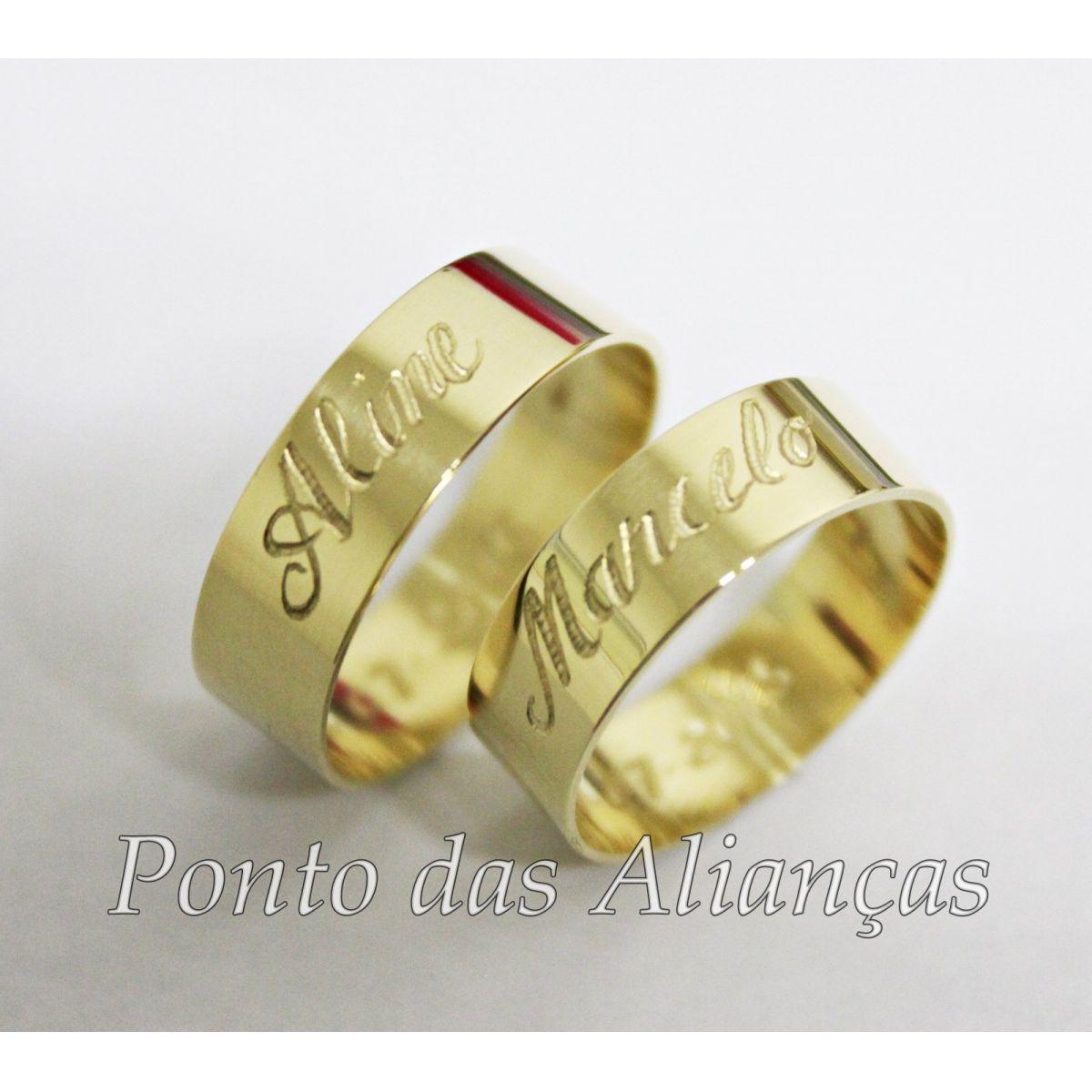 Alianças de Casamento ou Noivado 549