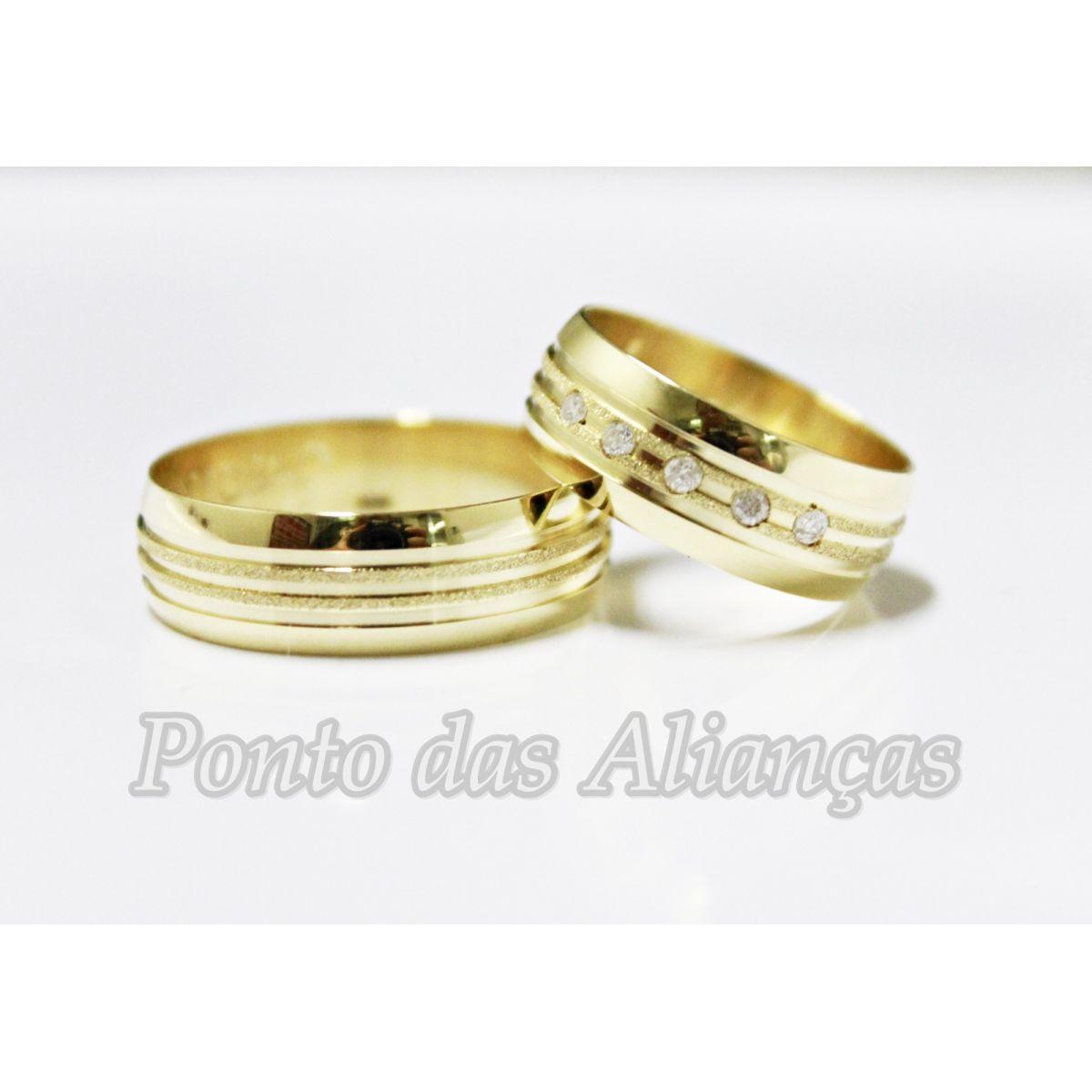 Alianças de Casamento ou Noivado 551