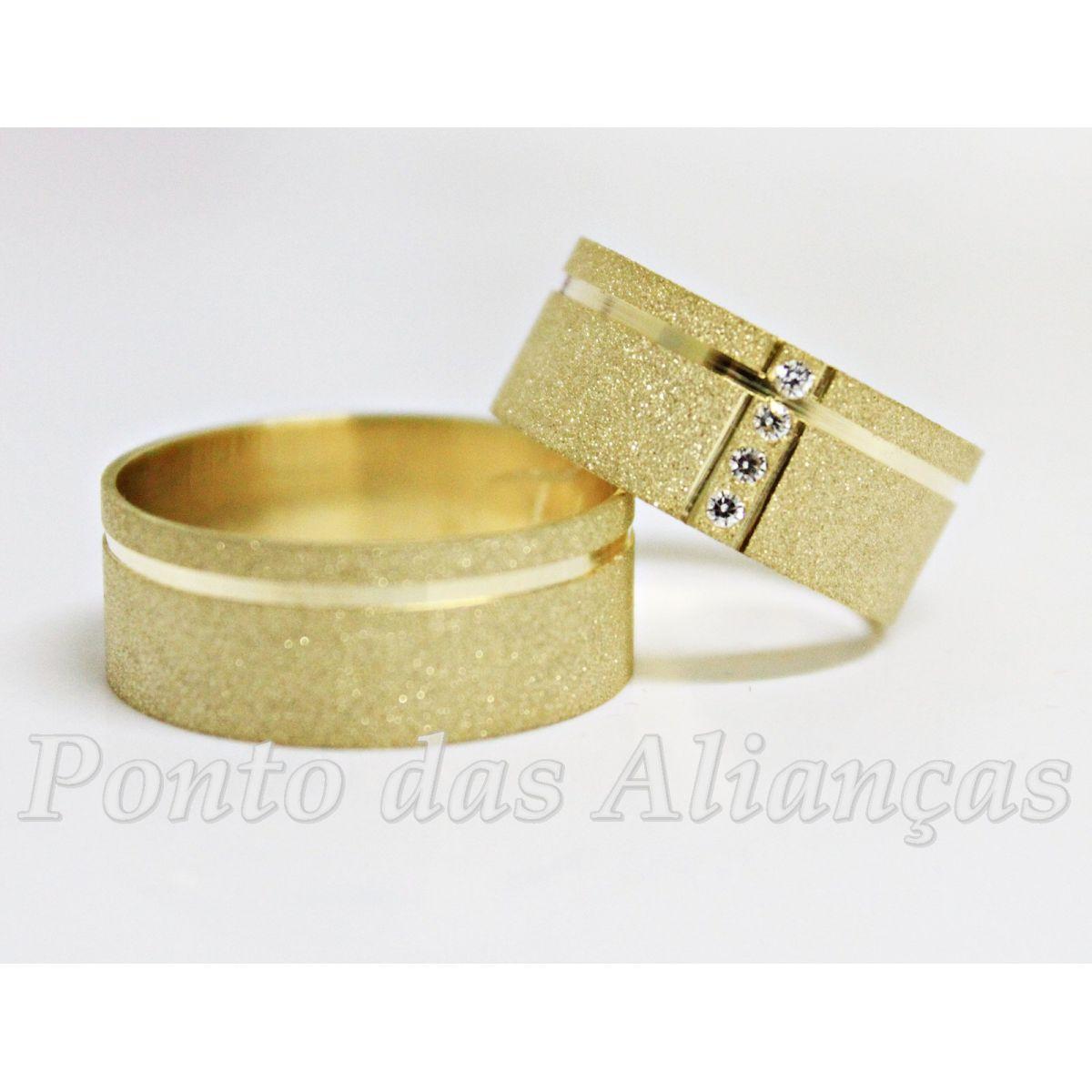 Alianças de Casamento ou Noivado - 552