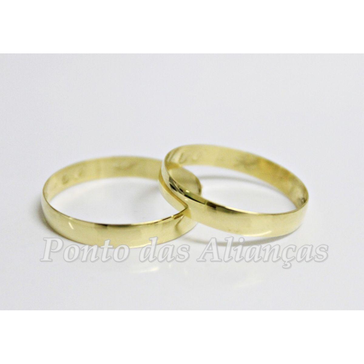 Alianças de Casamento ou Noivado - 873N