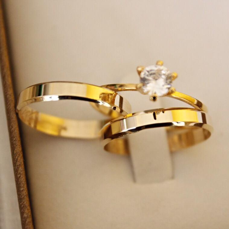 Alianças de Casamento ou Noivado- 889N