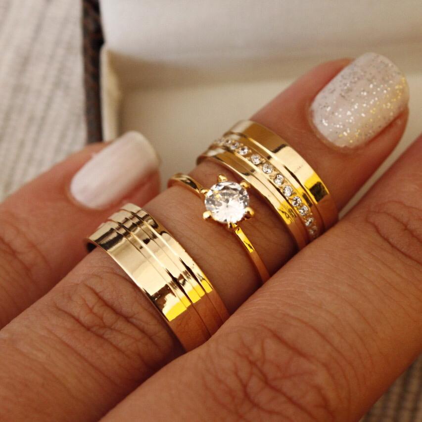 Alianças de Ouro Casamento - Noivado - 3126