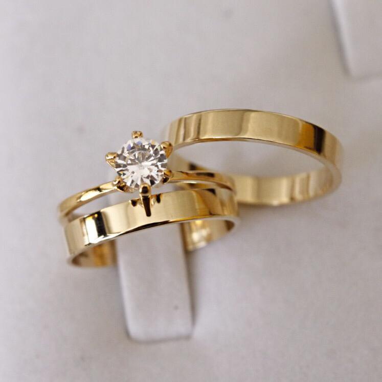 Alianças de Ouro Casamento ou Noivado -  3061