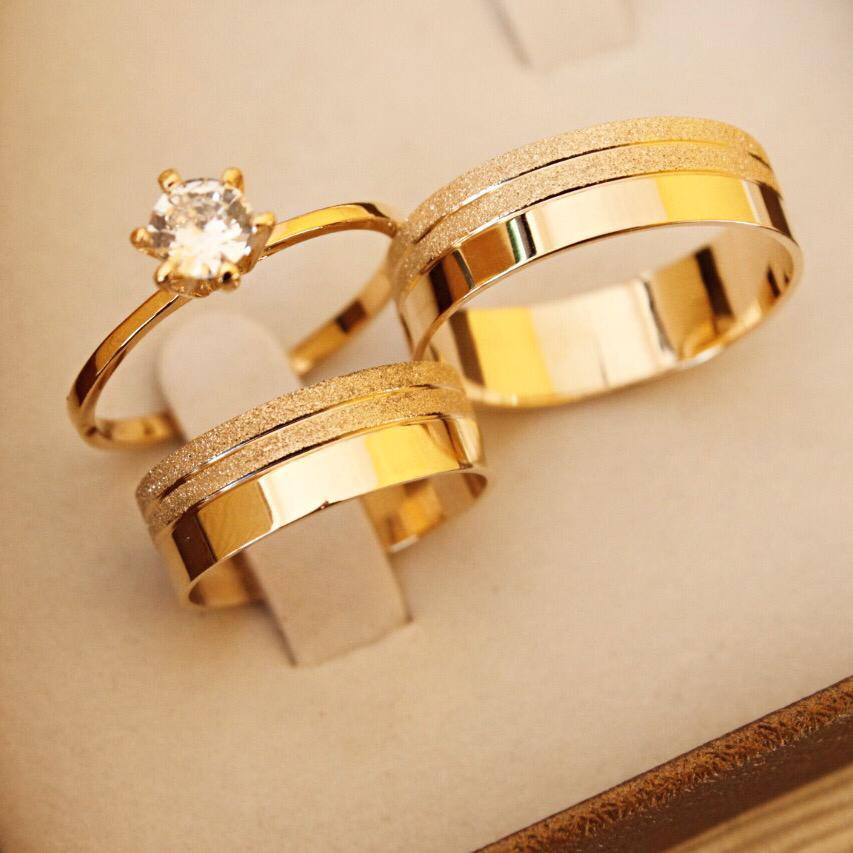 Alianças de Ouro Casamento ou Noivado - 3197