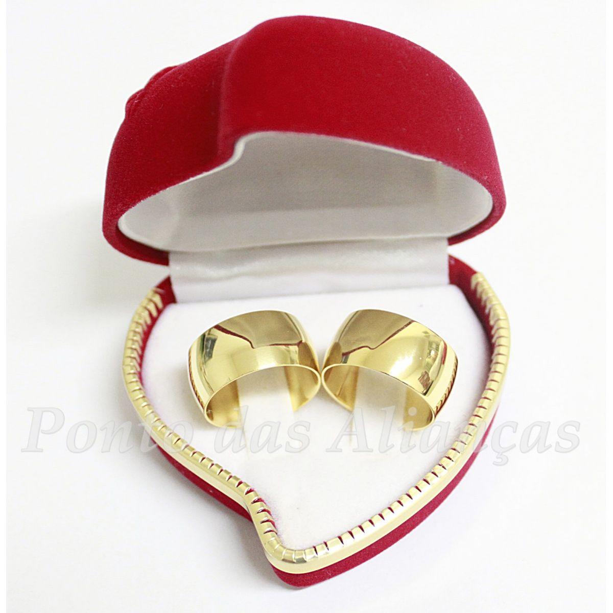 Alianças de Ouro Casamento ou Noivado - 516