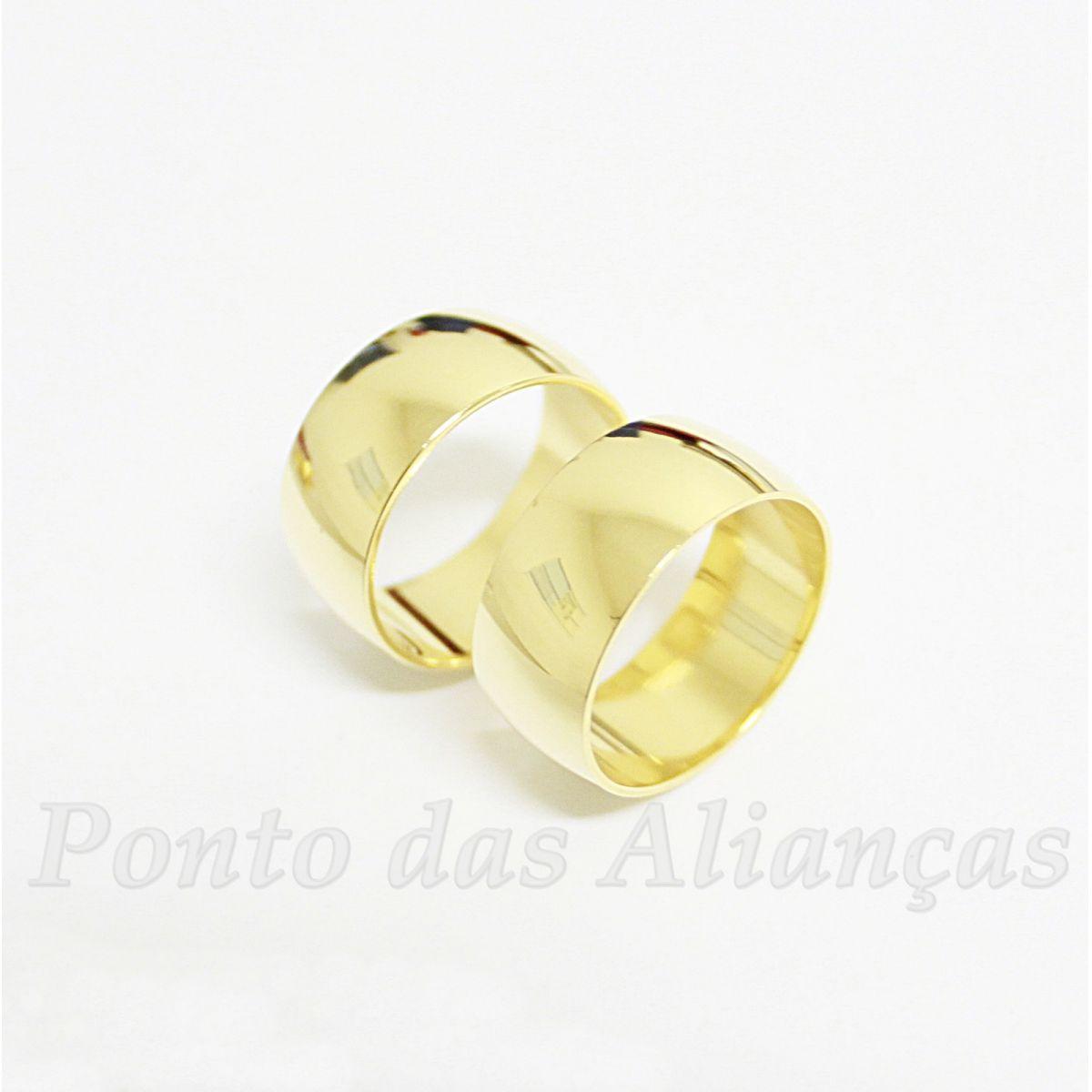 Alianças de Ouro Casamento ou Noivado - 517