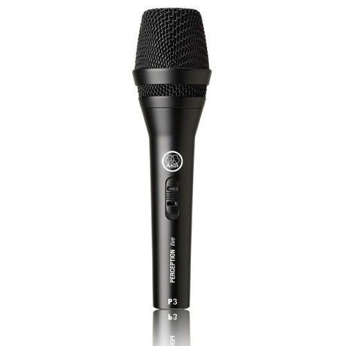 Microfone Akg P3s Perception Dinâmico + Pedestal Ask Tpl