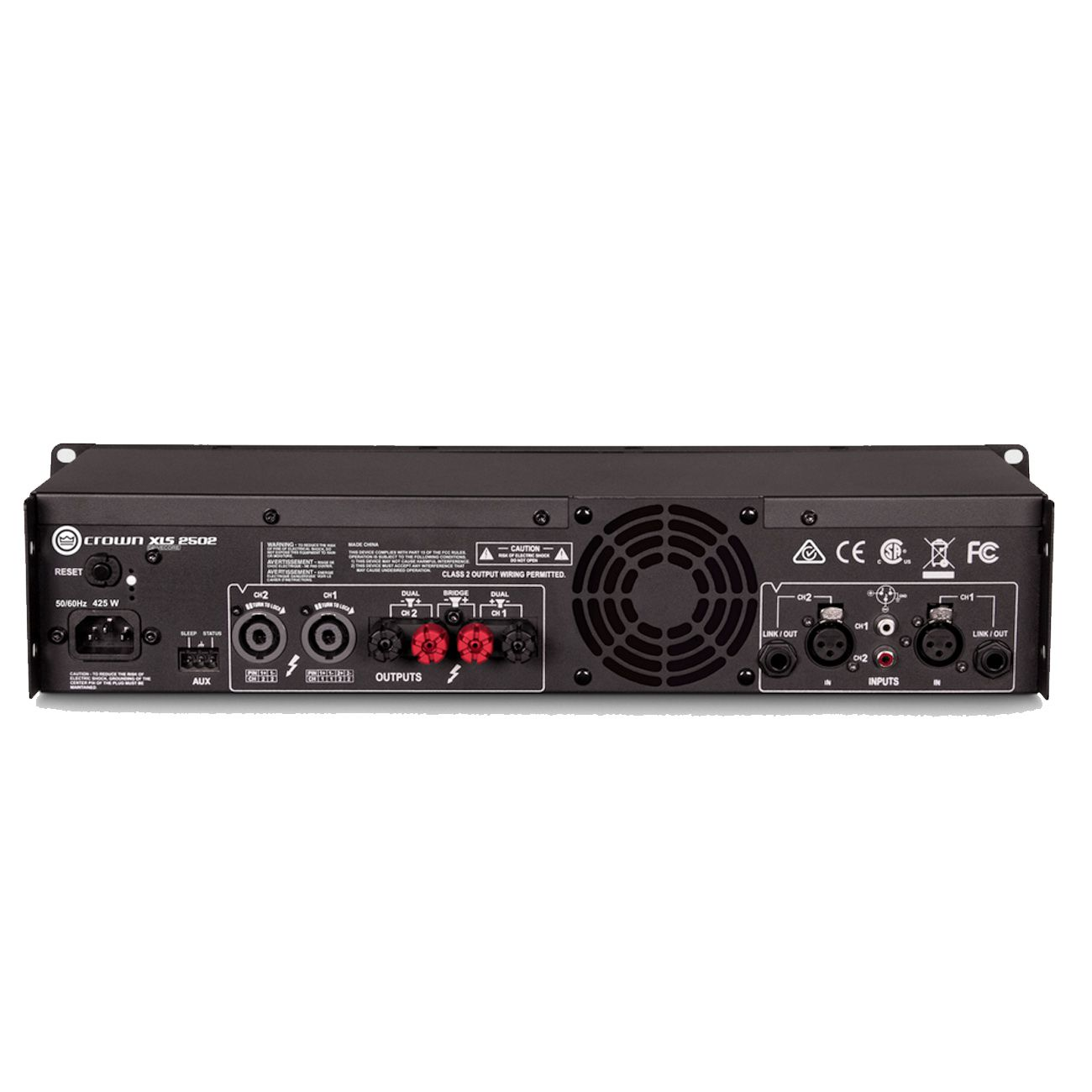 Amplificador Potência Crown Xls2502 2400w 220v