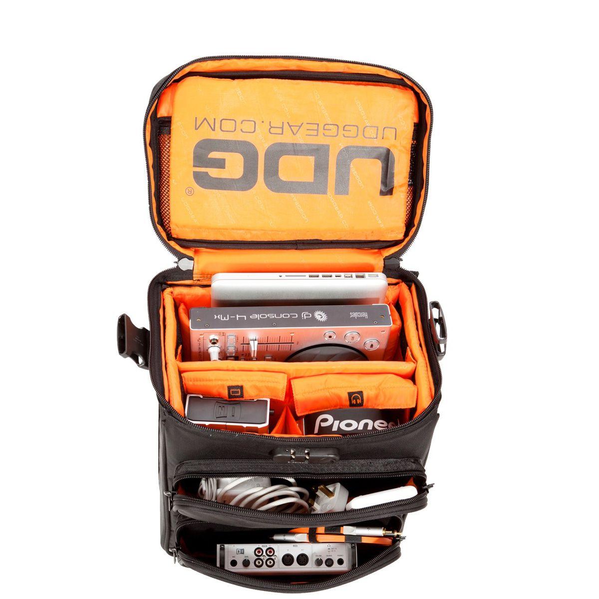 Bag Ultimate DIGI Trolley Go Preto com Laranja UDG U9880BL/OR
