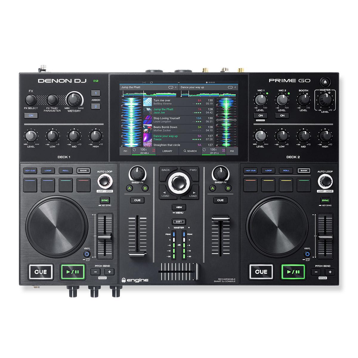 Controladora Denon DJ PRIME GO