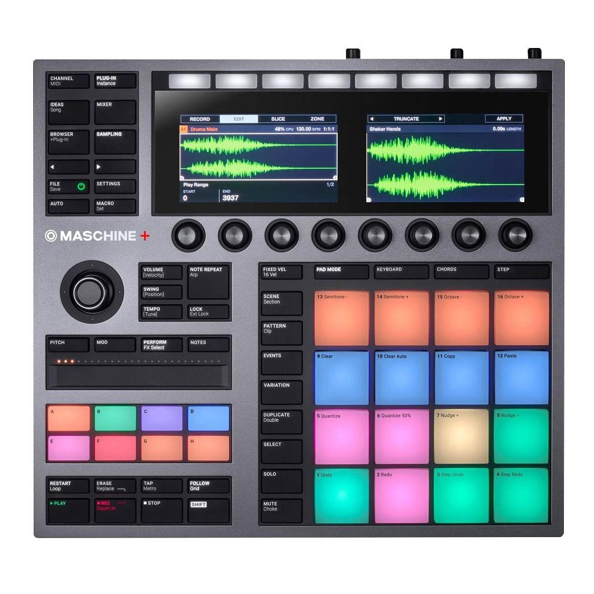 Controlador Native Instruments Maschine Plus +